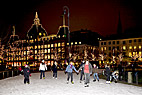 Skøjtebanen på Kongens Nytorv - Skating at the Ice rink