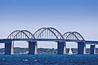 Storestrømsbroen - The Storestrom Bridge between Zealand and Falster in Denmark