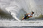 EM i Vandski i Vallensbaek - Adam Sadlmajer, Czech, 3th place, Waterski Slalom, EAME 2009