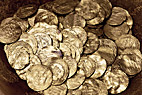 Møntskat - A treasure find containing Arabian silver coins