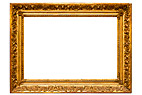 Billedramme - Gilded picture frame, horizontal