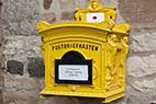 Postkasse - Old german mailbox