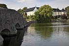 Gavnø slot - The stone bridge to Gavnoe castle in Denmark