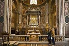 Kirke i Rom - Inside a gorgeous church in Rome Italy
