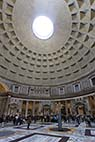 Pantheon - Inside the Pantheon in Rome Italy