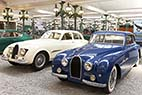 Bugatti museet i Mulhouse - Bugatti Coach Type 101 from 1951 at the National Museum Schlumpf Collection at Mulhouse, Alsace, France