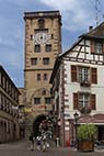 Byporten i Riberauville - Torre Civica in Ribeauville, Alsace, France